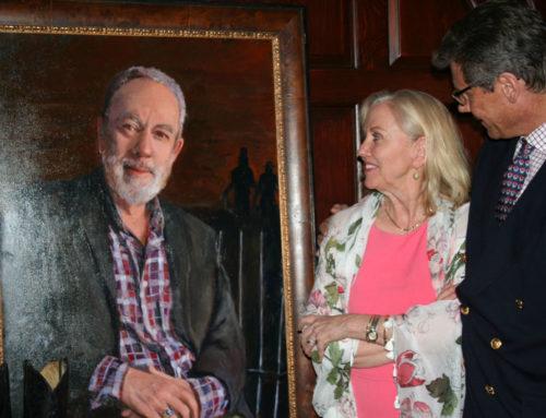 Portrait unveiling: Master Jeff Brenzel, Yale University